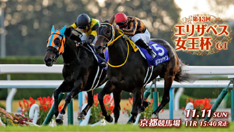 【競馬・エリザベス女王杯】11/11(日) 第43回 エリザベス女王杯(GⅠ) part1.5
